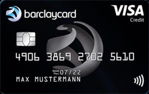 Barclaycard Visa Kreditkarte für Reisen